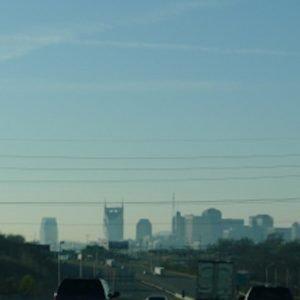 Nashville Contrails